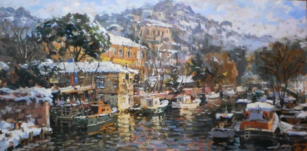 土耳其画家布伦特·基尔奇作品选插图45