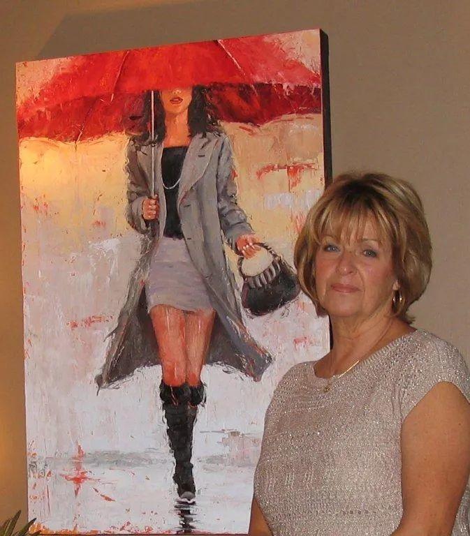 美国女画家劳拉·李·桑格蒂作品选插图1