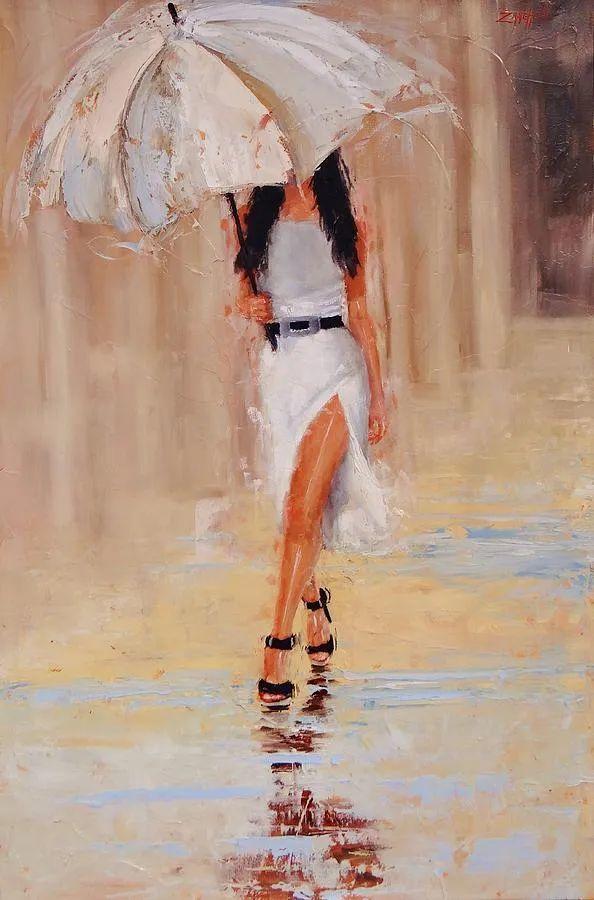 美国女画家劳拉·李·桑格蒂作品选插图3