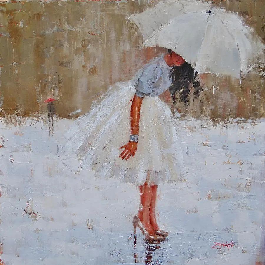 美国女画家劳拉·李·桑格蒂作品选插图7