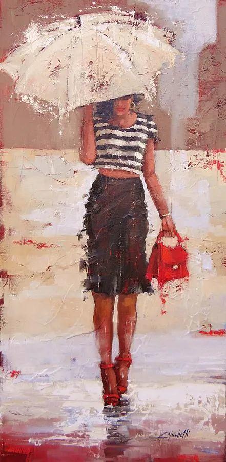 美国女画家劳拉·李·桑格蒂作品选插图12
