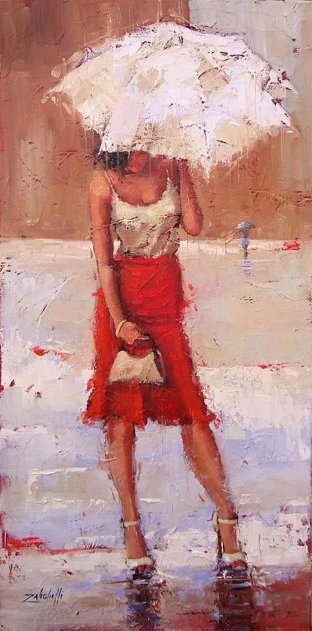 美国女画家劳拉·李·桑格蒂作品选插图14