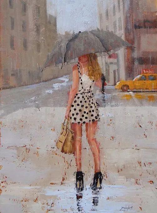 美国女画家劳拉·李·桑格蒂作品选插图16