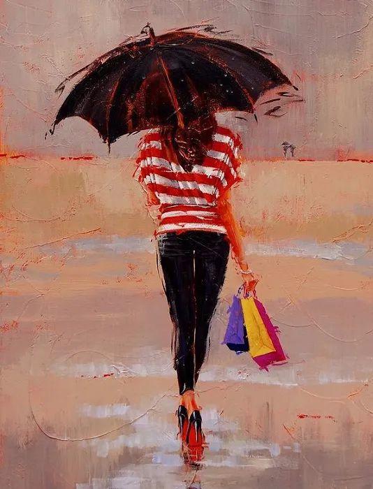 美国女画家劳拉·李·桑格蒂作品选插图17