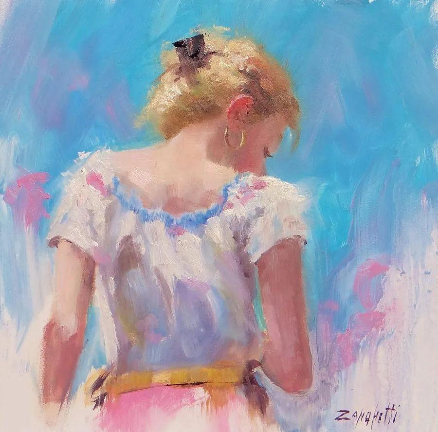 美国女画家劳拉·李·桑格蒂作品选插图19