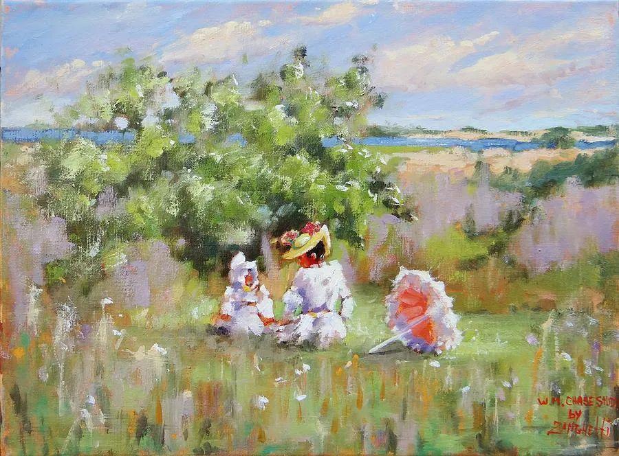 美国女画家劳拉·李·桑格蒂作品选插图23