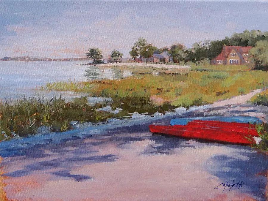 美国女画家劳拉·李·桑格蒂作品选插图25