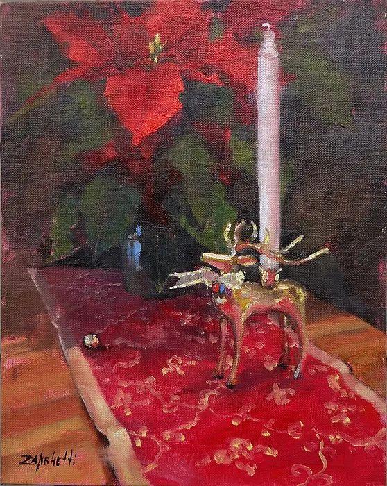 美国女画家劳拉·李·桑格蒂作品选插图26