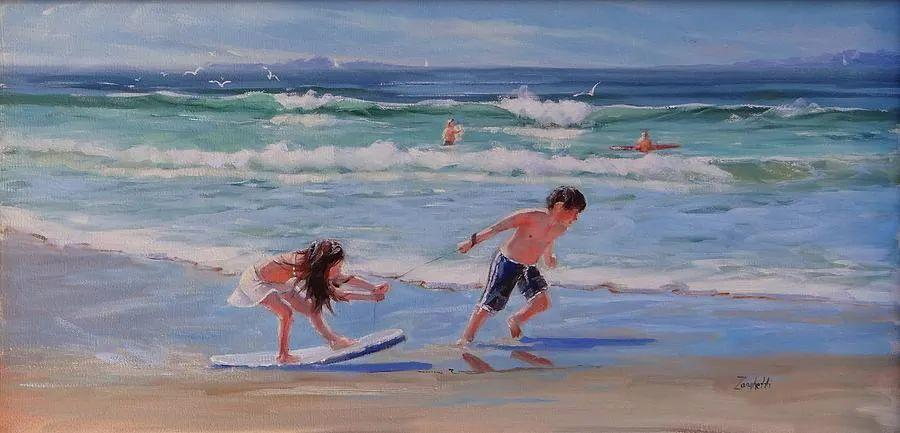 美国女画家劳拉·李·桑格蒂作品选插图28