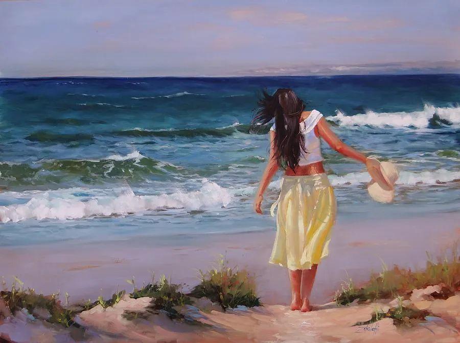 美国女画家劳拉·李·桑格蒂作品选插图32