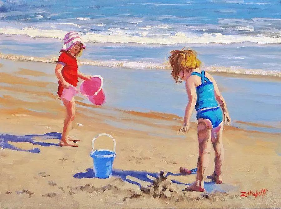 美国女画家劳拉·李·桑格蒂作品选插图33