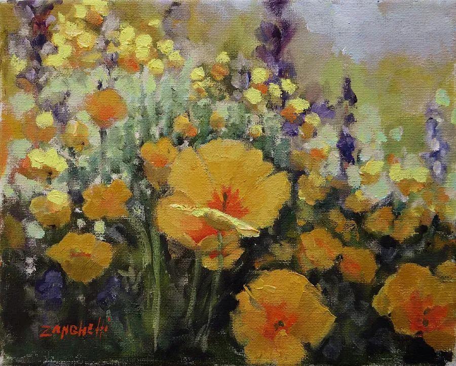 美国女画家劳拉·李·桑格蒂作品选插图36