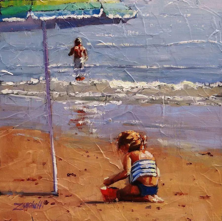 美国女画家劳拉·李·桑格蒂作品选插图37