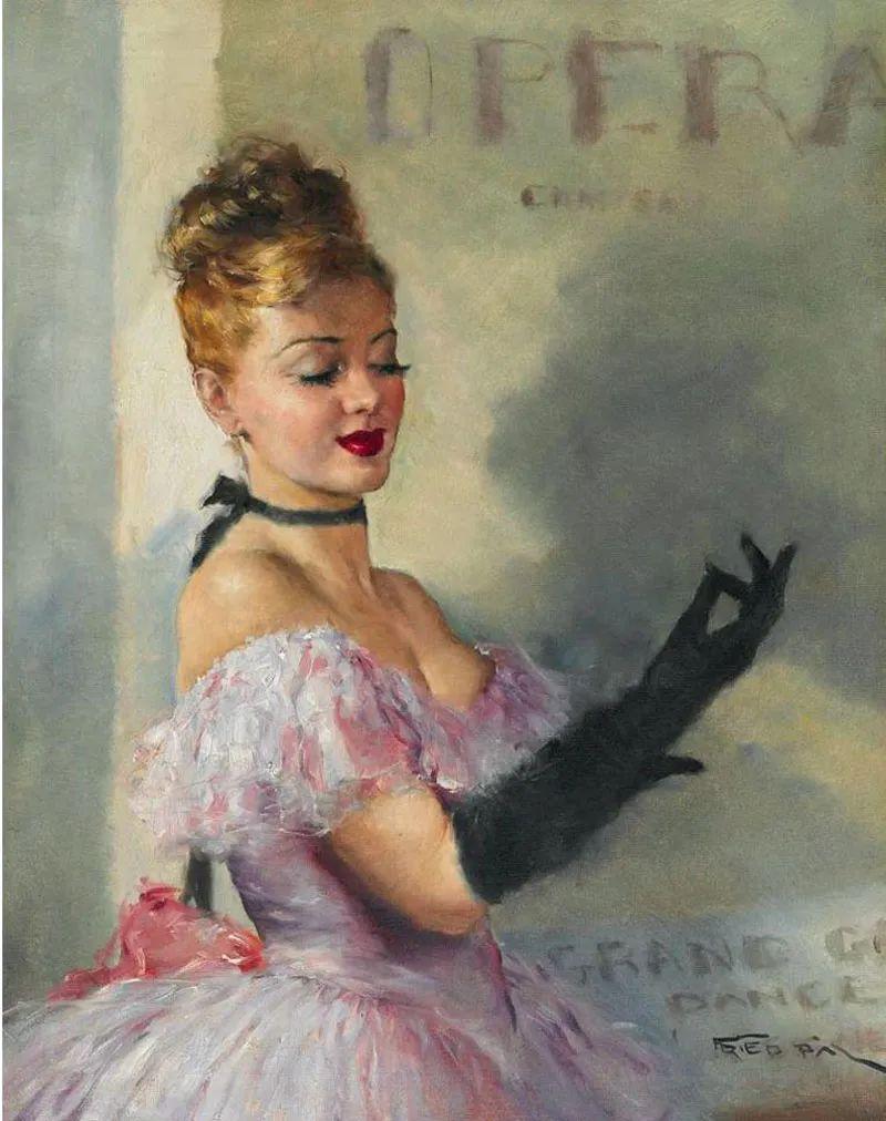 匈牙利画家Pal Fried作品选插图31