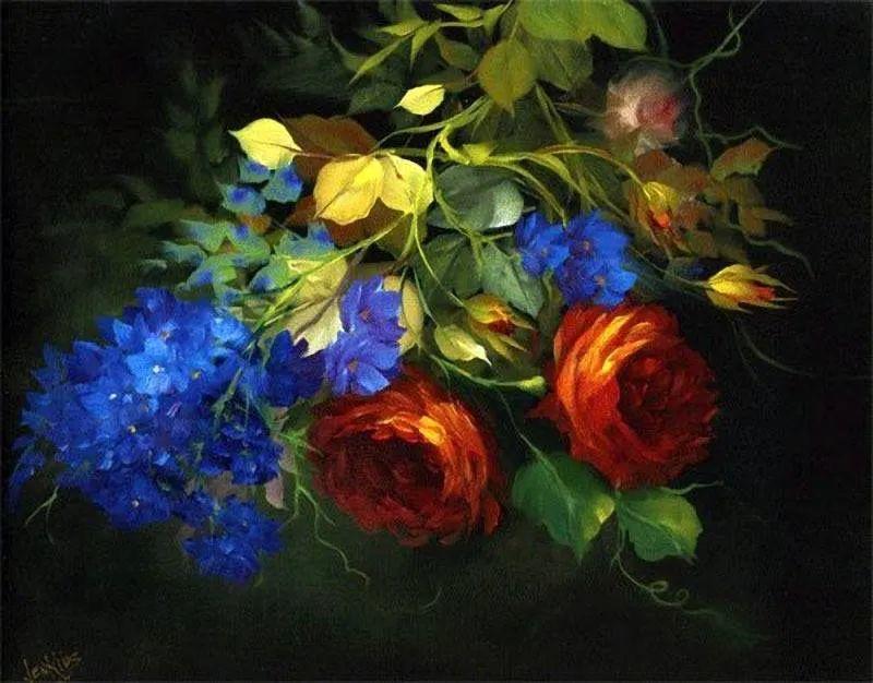 这对老夫妇教授绘画40多年,画的花也太漂亮了!插图30