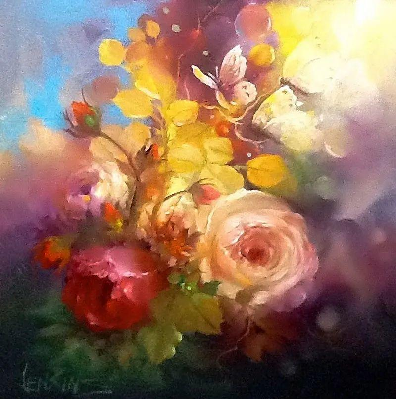这对老夫妇教授绘画40多年,画的花也太漂亮了!插图53