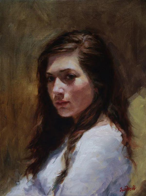 美国女画家苏·福尔人物肖像画选 (中)插图2