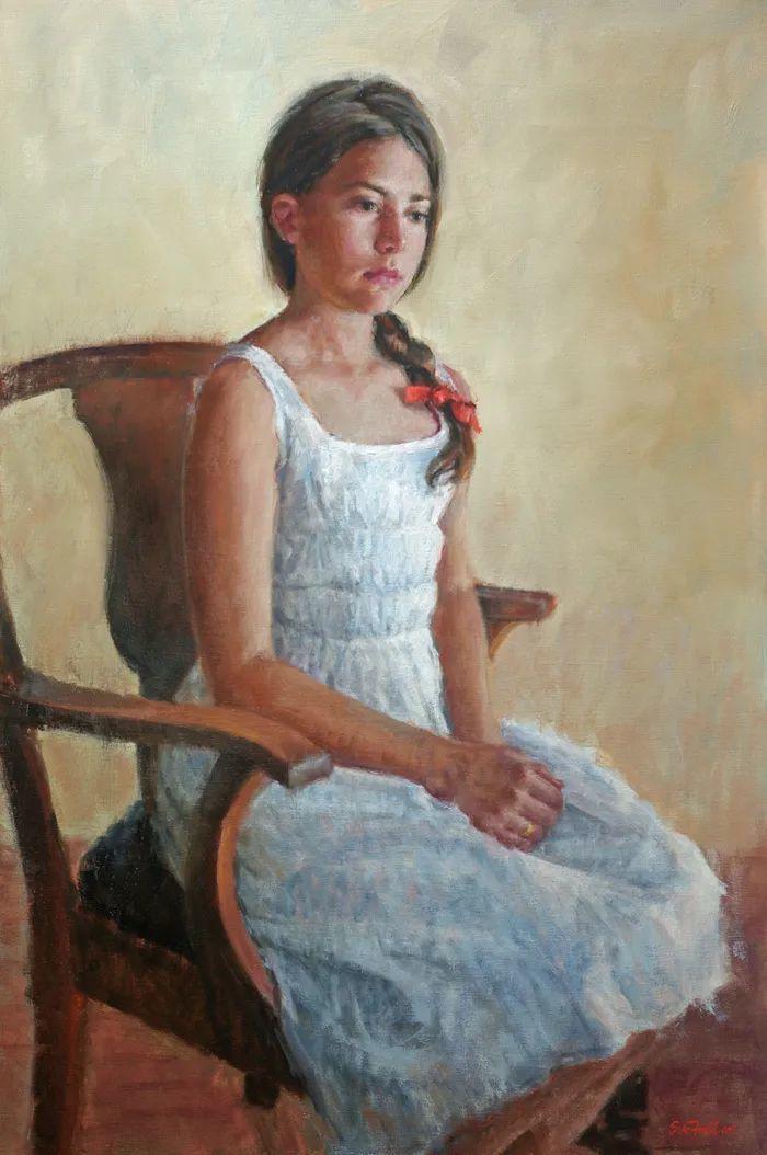 美国女画家苏·福尔人物肖像画选 (中)插图8