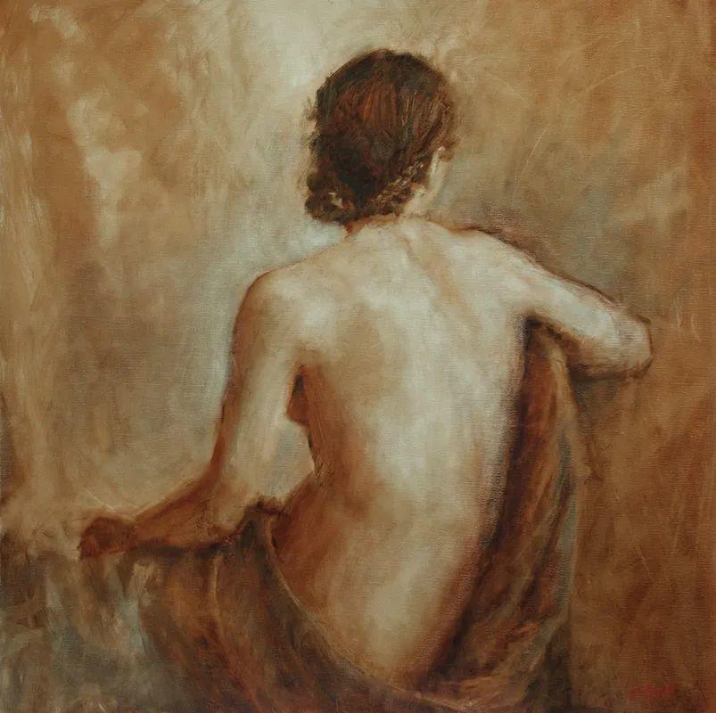 美国女画家苏·福尔人物肖像画选 (中)插图9