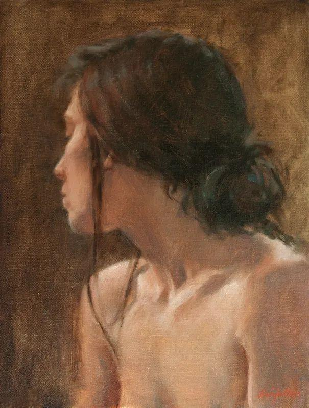 美国女画家苏·福尔人物肖像画选 (中)插图12