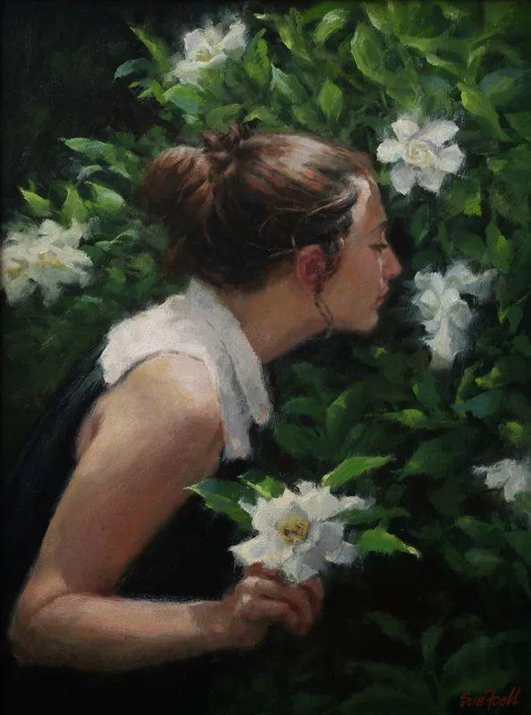 美国女画家苏·福尔人物肖像画选 (中)插图18