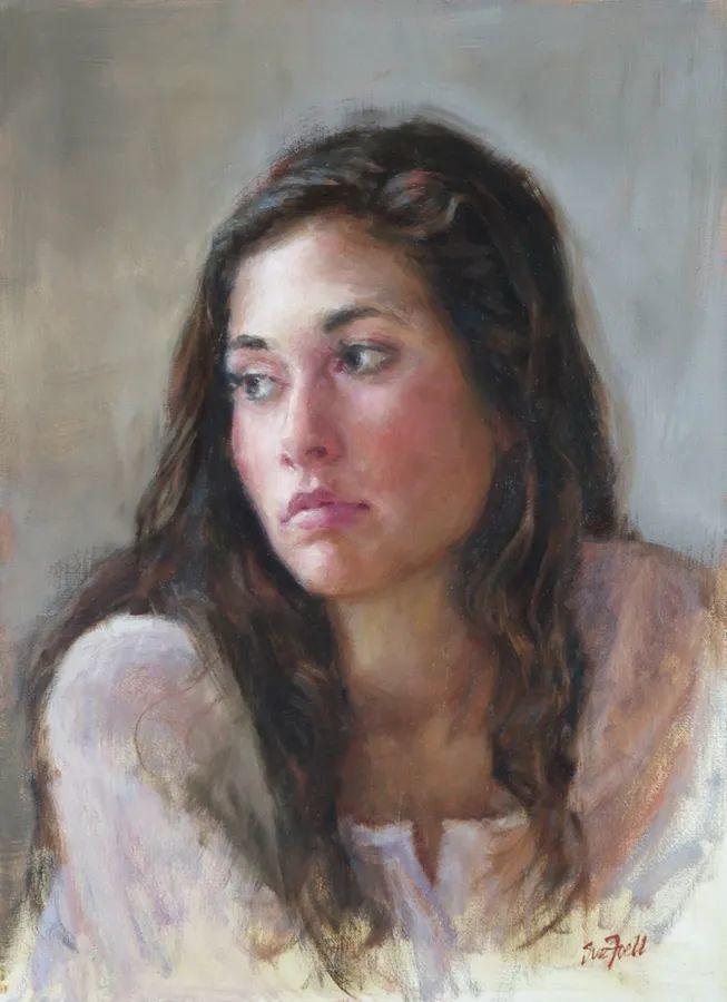 美国女画家苏·福尔人物肖像画选 (中)插图19