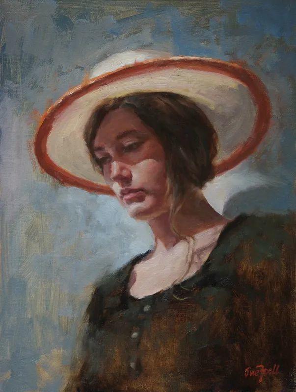 美国女画家苏·福尔人物肖像画选 (中)插图20
