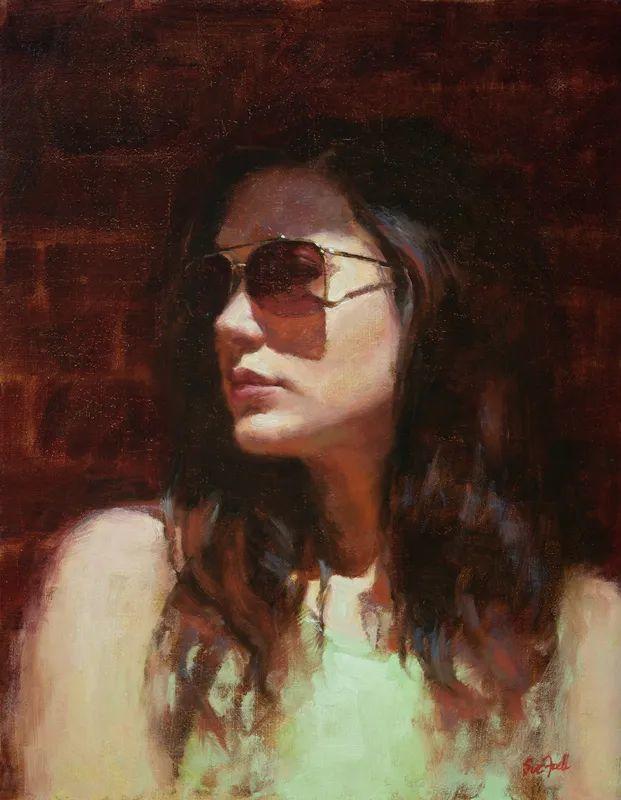美国女画家苏·福尔人物肖像画选 (中)插图22