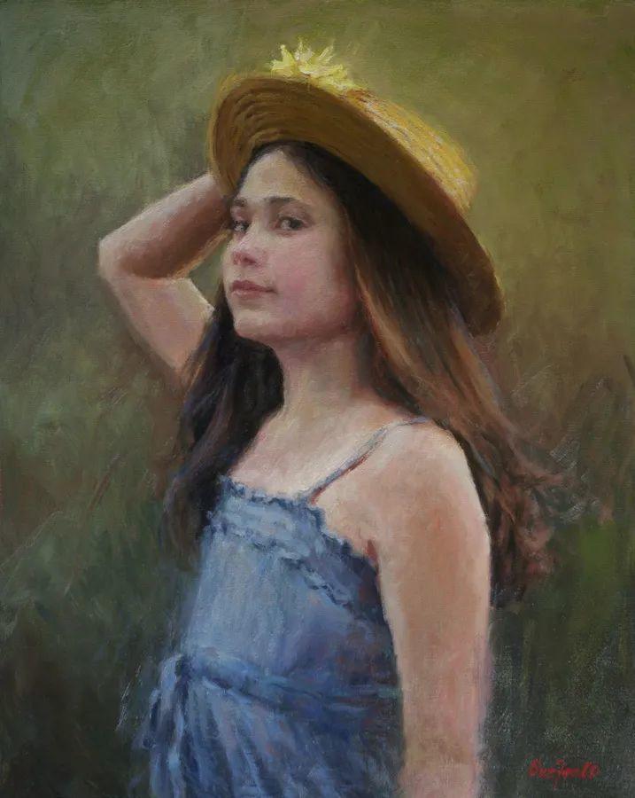 美国女画家苏·福尔人物肖像画选 (中)插图27