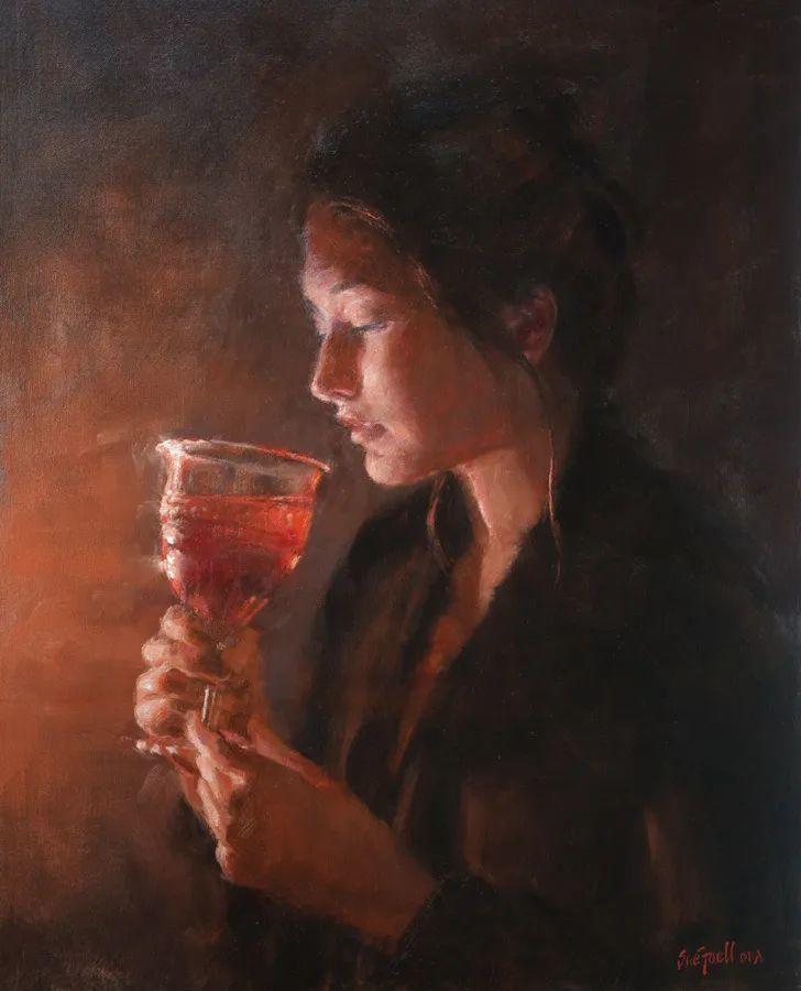 美国女画家苏·福尔人物肖像画选 (中)插图28
