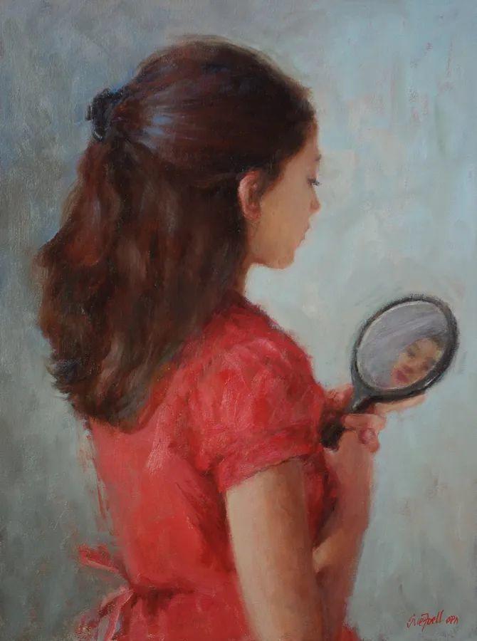 美国女画家苏·福尔人物肖像画选 (中)插图30