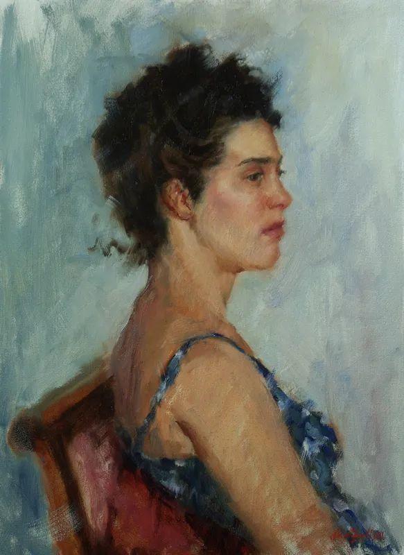 美国女画家苏·福尔人物肖像画选 (中)插图31