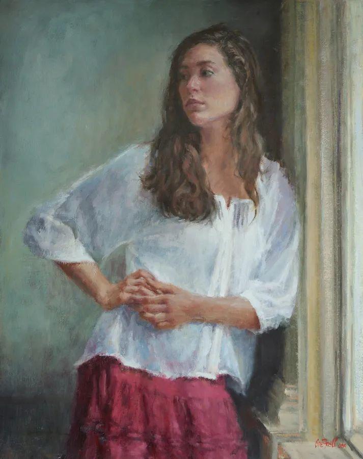 美国女画家苏·福尔人物肖像画选 (中)插图33