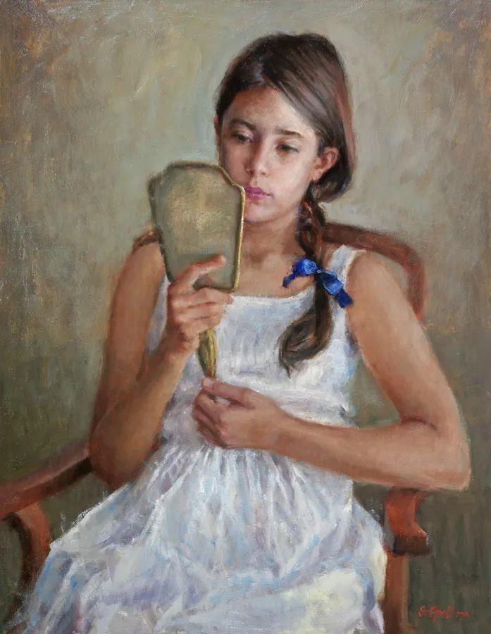美国女画家苏·福尔人物肖像画选 (中)插图35