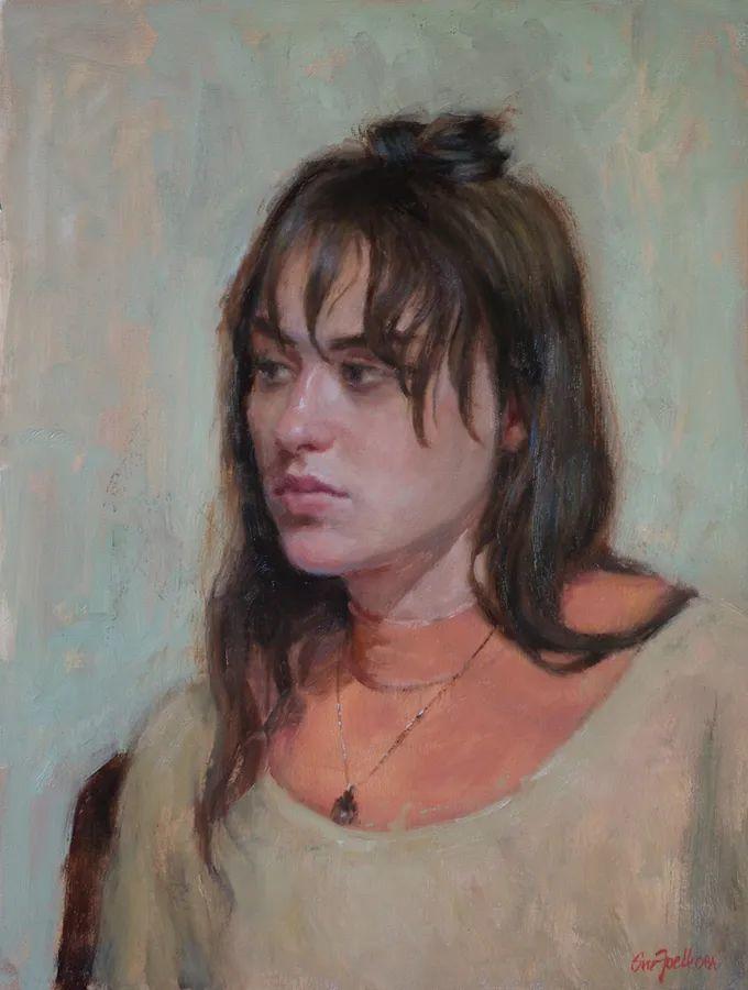 美国女画家苏·福尔人物肖像画选 (中)插图36