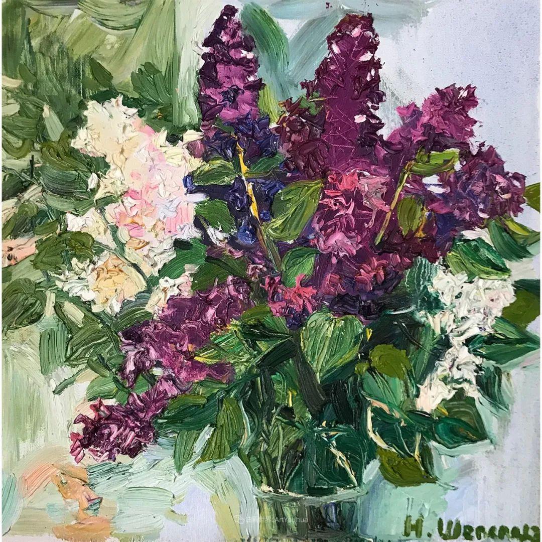 俄罗斯女画家,大笔触风景与花卉,美轮美奂!插图45