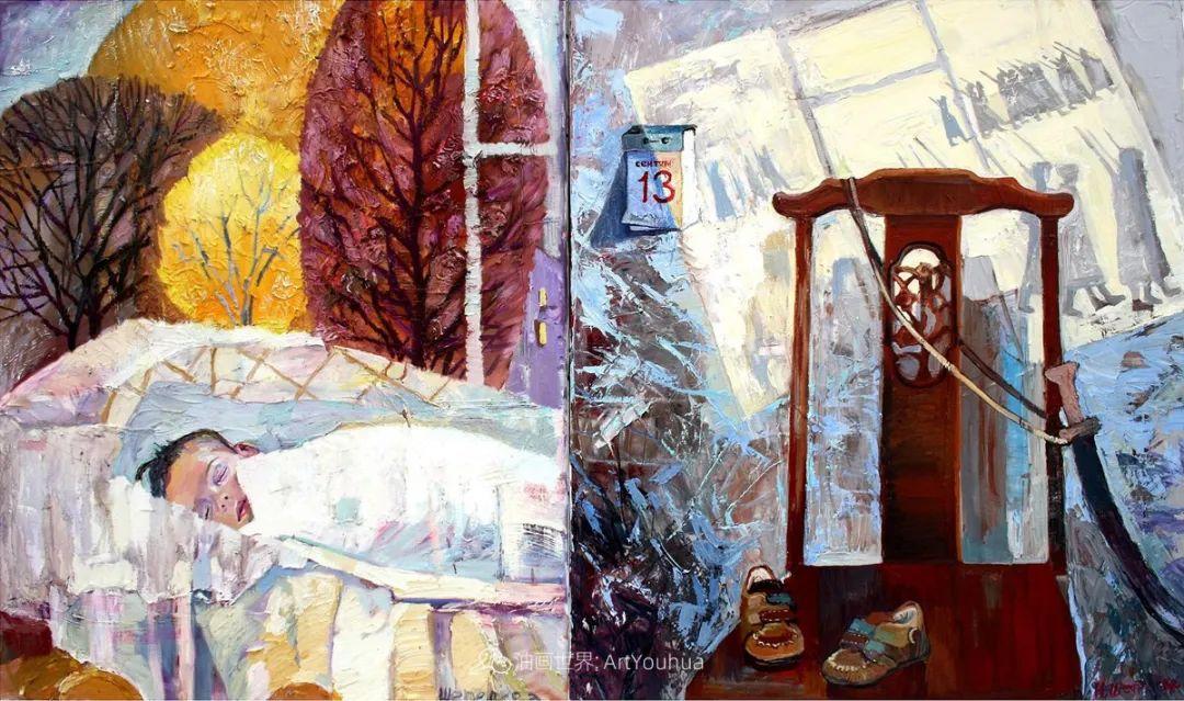 俄罗斯女画家,大笔触风景与花卉,美轮美奂!插图77