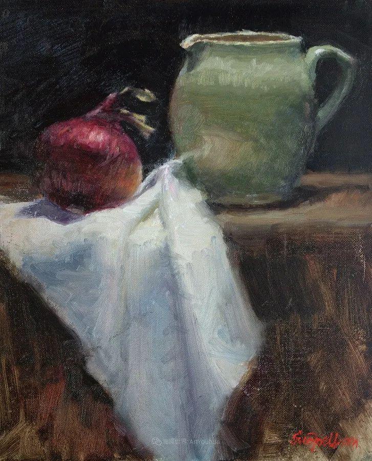 静物欣赏,美国女画家苏·福尔画选 (上)插图77