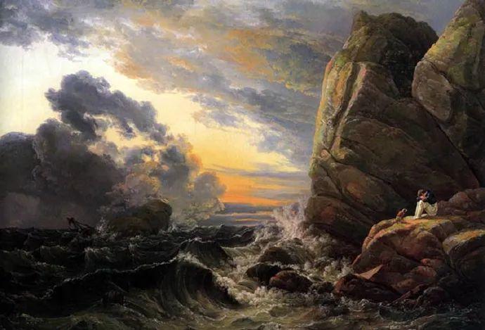挪威山水画之父——达尔 (下)插图1