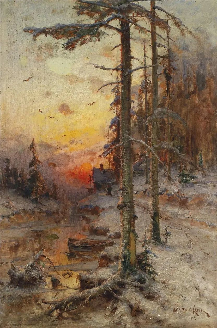 高对比度的美学手法,神秘浪漫的俄罗斯风景!插图1