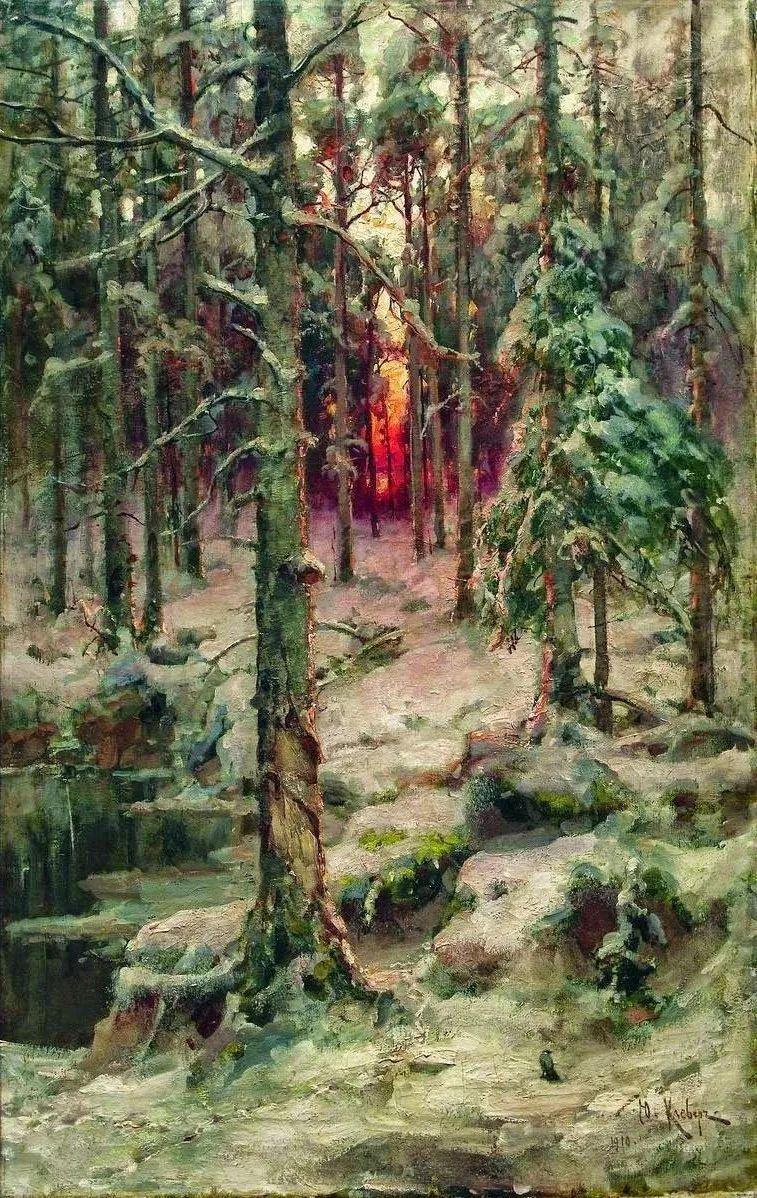 高对比度的美学手法,神秘浪漫的俄罗斯风景!插图5