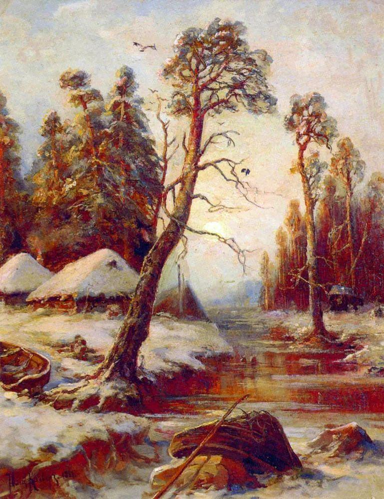 高对比度的美学手法,神秘浪漫的俄罗斯风景!插图7