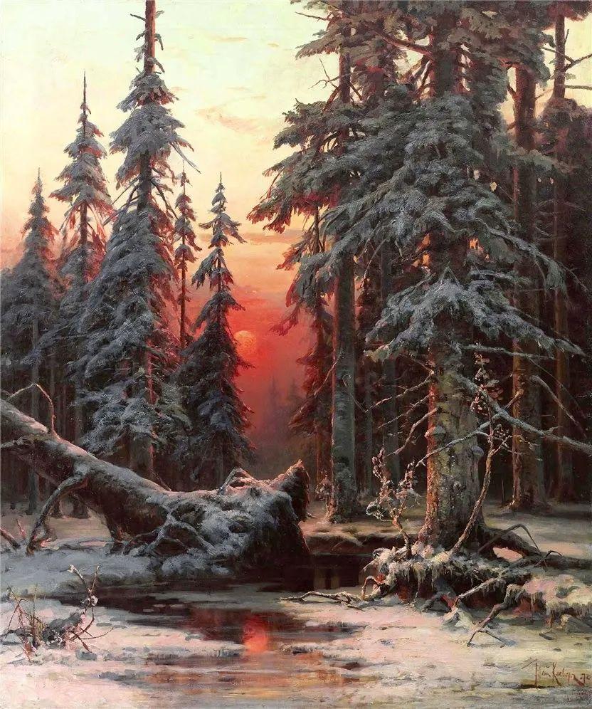 高对比度的美学手法,神秘浪漫的俄罗斯风景!插图9
