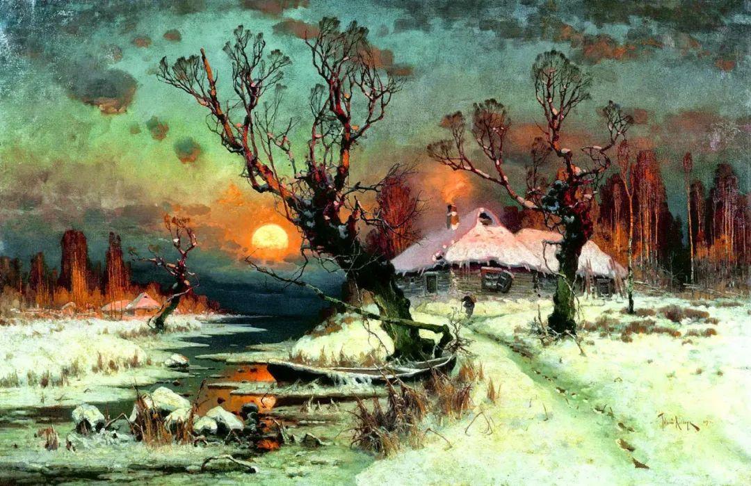 高对比度的美学手法,神秘浪漫的俄罗斯风景!插图25