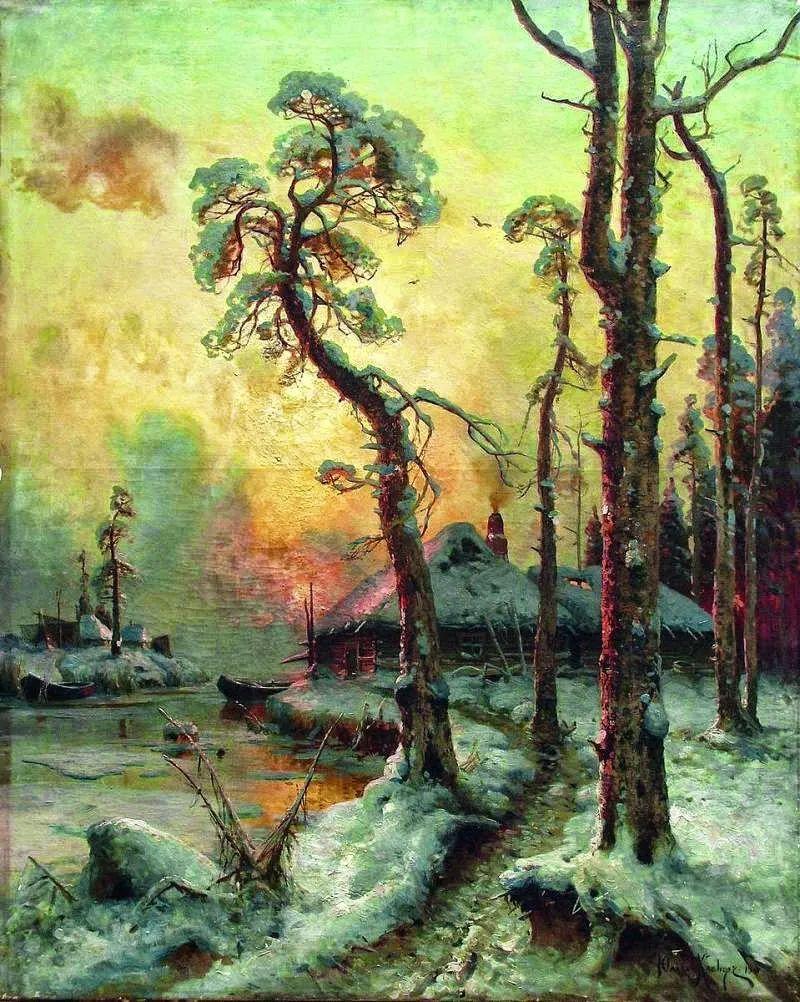 高对比度的美学手法,神秘浪漫的俄罗斯风景!插图33
