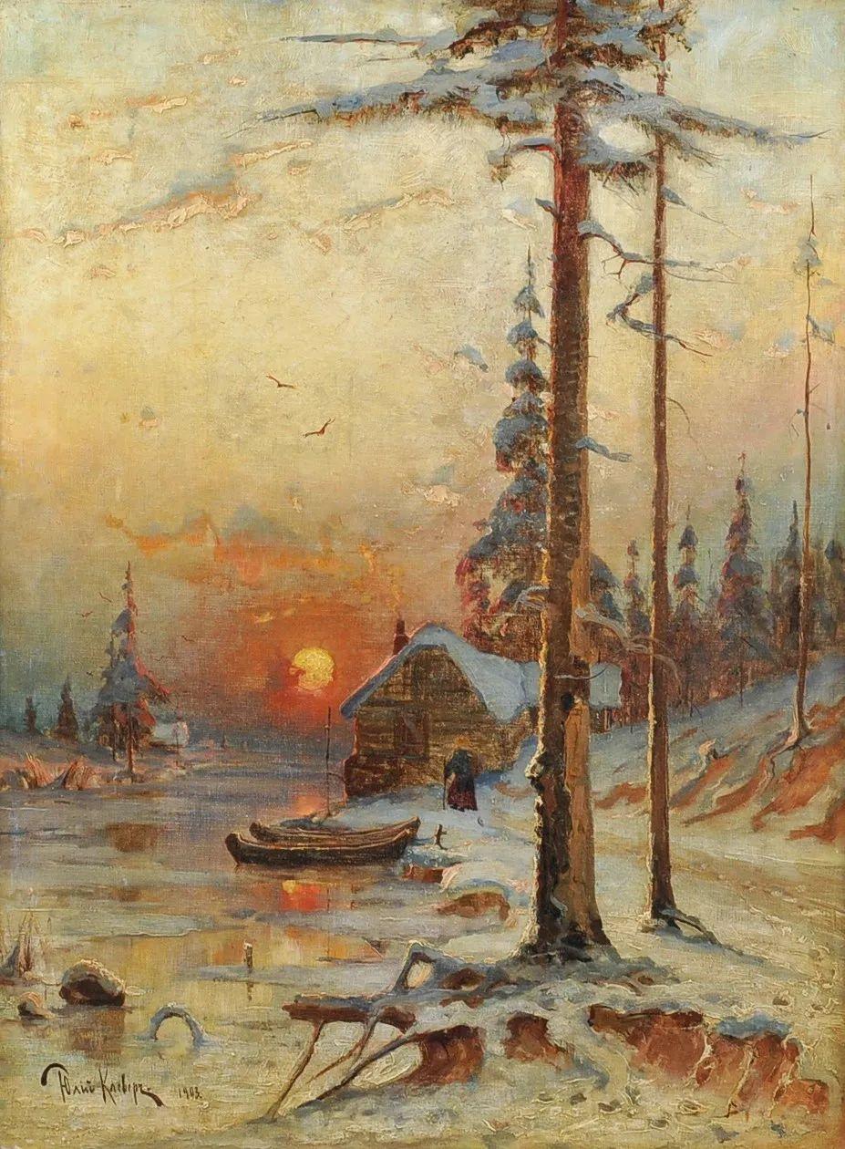 高对比度的美学手法,神秘浪漫的俄罗斯风景!插图37