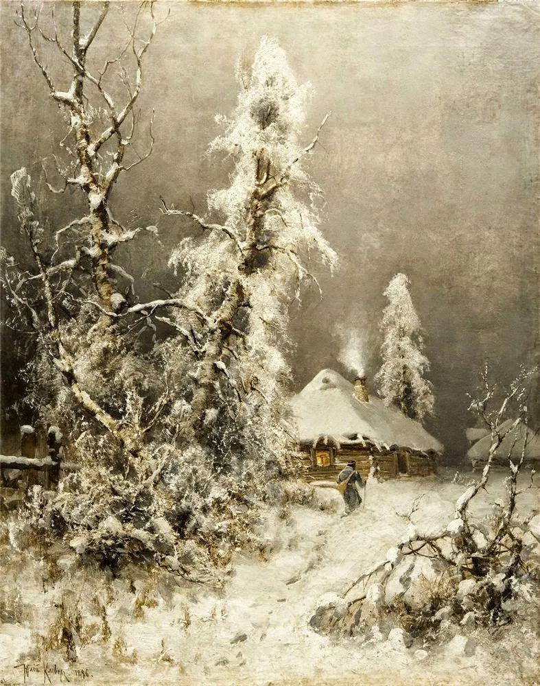 高对比度的美学手法,神秘浪漫的俄罗斯风景!插图51