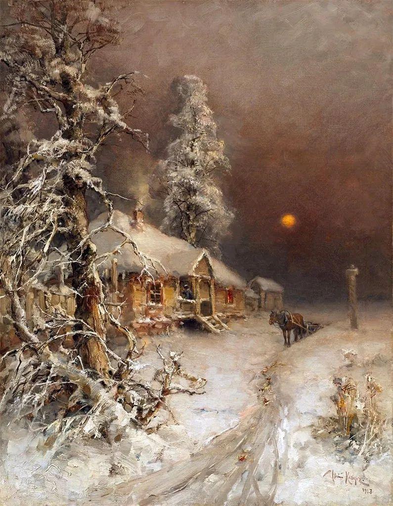 高对比度的美学手法,神秘浪漫的俄罗斯风景!插图57