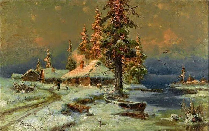 高对比度的美学手法,神秘浪漫的俄罗斯风景!插图65