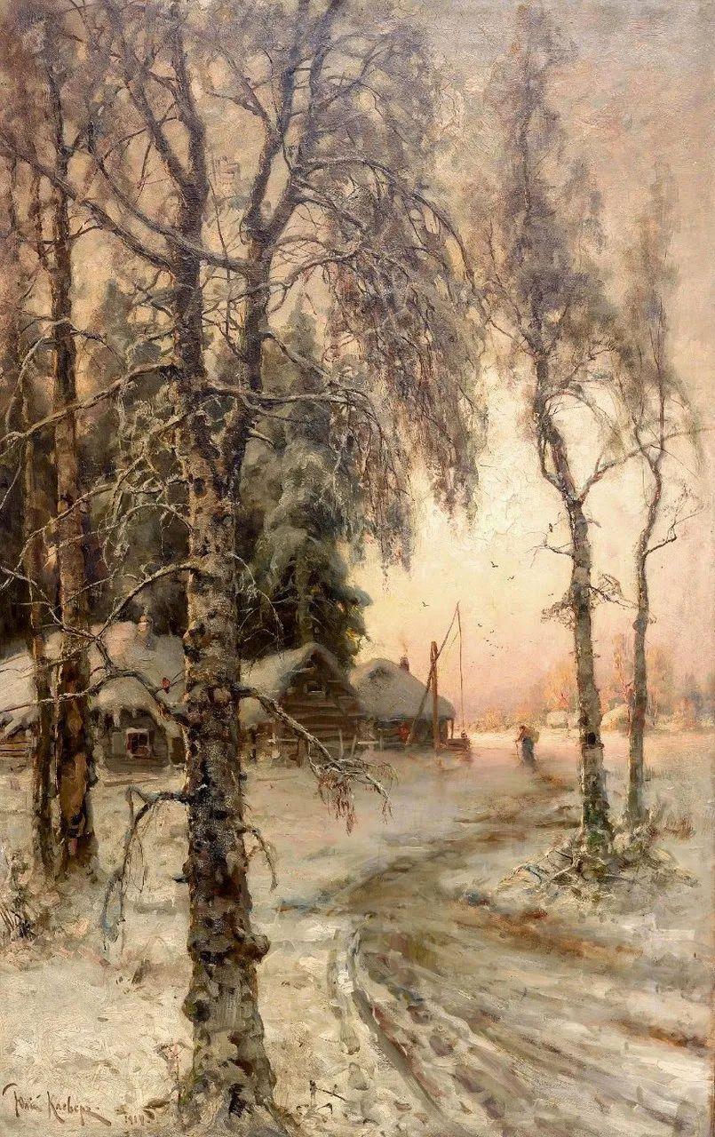 高对比度的美学手法,神秘浪漫的俄罗斯风景!插图85